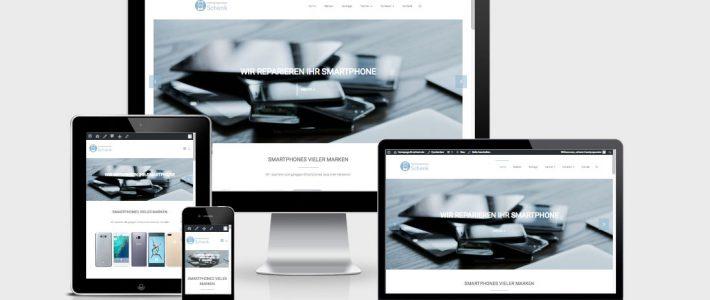 handyreparatur-schenk bietet seinen Reparaturservice für Smartphones vieler Marken!
